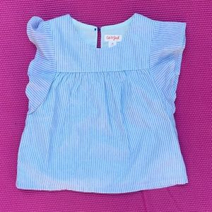 Toddler girls strip tank top